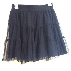 Studio Y Black Skirt